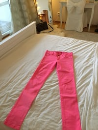 Jeans Alice and olivia by stacey bendit pink Malmö, 211 13
