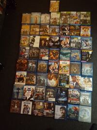 assorted movie case lot