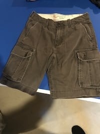 brown denim short shorts and black denim shorts Innisfil
