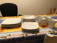 16 plates and mug set Must go by February 20