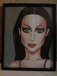 "Original Painting framed canvas ""Julianne"" by Ann Marie Pincivero Kitchener, ON N2E 4C7, Canada"