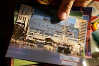 6 post cards from Baltimore