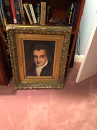 READ CAREFULLY painting from 1968, look at pictures frame 200+ yrs. (200/obo Metairie, 70005