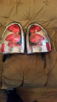 Chrome dodge durango tail lights 76 km