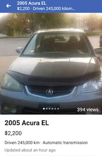 2005 Acura EL London