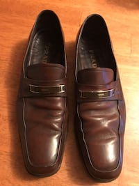 Prada leather loafers US Men's Size 10