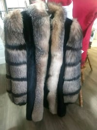 One fur coat excellent condition 539 km