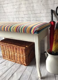 Boho vintage Bench with storage Central Elgin, N5P 4P9