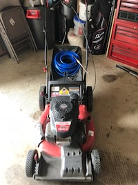 red and black Troy-Bilt push mower Gainesville, 20155