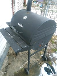 black and gray metal charcoal grill Hagerstown, 21740