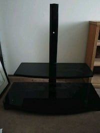 Black Glass TV stand West Valley City, 84119
