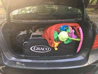black and red Graco car seat carrier Morris Plains