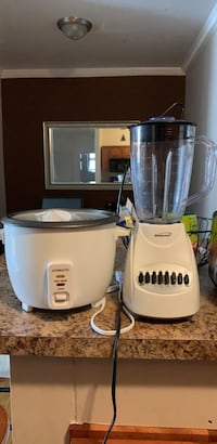 Moving sale! 2 for $25 rice cooker and blender  New York, 10462