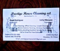 House cleaning Humble, 77396