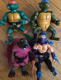 1989 teenage mutant ninja turtle lot  Waterloo, N2J 3A4