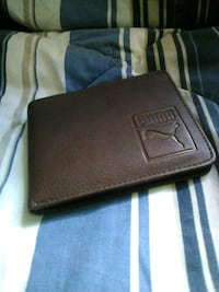 black leather bi-fold wallet Hyattsville, 20784