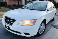 2010 Hyundai Sonata Pearl White Uber Lyft Ready ' No check engine light Takoma Park