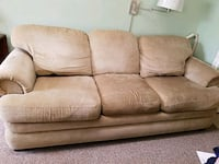 brown fabric 3-seat sofa Kensington, 20895