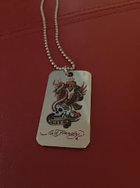 Ed Hardy Dog Tag Necklace Alexandria, 22304
