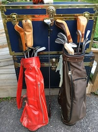 2 golf bags with clubs Ottawa, K1G