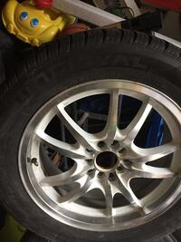 225/55/17 tires and rims 4.5 inches holes Mississauga, L5L 2B4