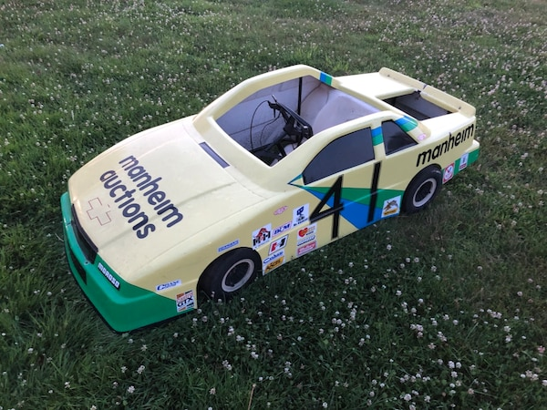 Early 90's Chevy Lumina go kart body and frame with 2 engines that need  work
