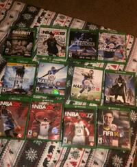 Xbox one Second and 23 games