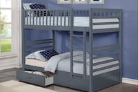 BUNK BED WITH DRAWERS Toronto, M6N 3G1