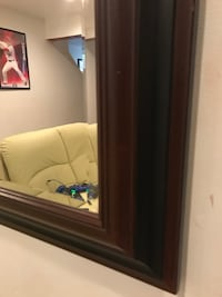 Stylish mirror for sale. In great condition. It does not go with the new decor so we are selling it. Paid $125 at Lowe's.  Woodbridge, 22193
