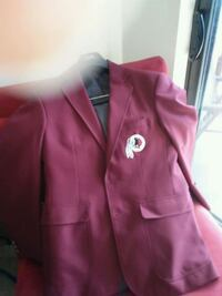 Red Original Redskins Official Blazer..2013 Arlington, 22201