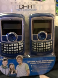 Blue and gray digital device for texting only  Cincinnati, 45204