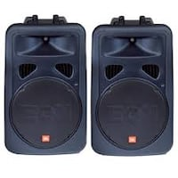 JBL EON15 G2 Active Powered Speakers PA System 23 mi