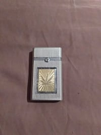 grey and brown flip torch lighter Tyro, 27295