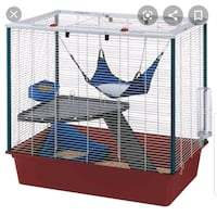 2 small ferret cages