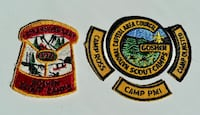 Vintage Goshen Boy Scout Camp Patches Bethesda, MD, USA