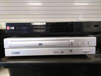 black L G DVD player and Coby DVD player Chicago, 60647