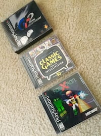 Assorted Playstation 1 Video games / each if priced $12     3 PS1 game to chose from Alexandria, 22311