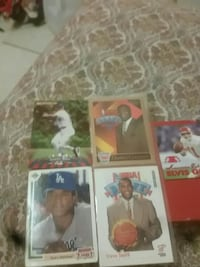 assorted baseball player trading cards Boston, 02125