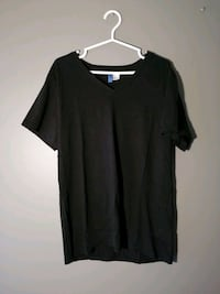 Dividend V-neck t shirt - Black