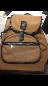 Faux leather backpack brand new Calgary, T3K 3Y3