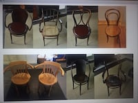 Antique bentwood chairs Burke, 22015