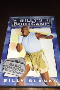 Billy's BootCamp Workout DVD set Dover, 17315
