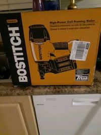 High power coil framing nailer bwitb