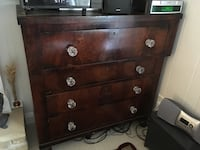 Dresser, Chest of drawers with original glass knobs.  Best Offer! Hagerstown, 21742