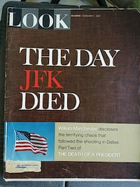 LOOK Magazine February 7, 1967 the day JFK Died  Lancaster, 43130