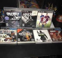 PS3 games fifa, call of duty, nba, battlefield Fort Worth, 76134