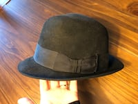 black and blue fitted cap Gaithersburg, 20879