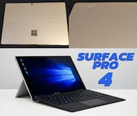 *firm price* Microsoft Surface Pro 4 - 6th Gen Intel Core i7, 256GB SSD, 8GB RAM, MS Office (pick up only) Toronto