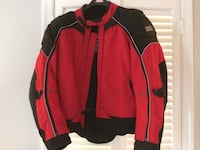 Men's water resistant armored motorcycle jacket 20 mi