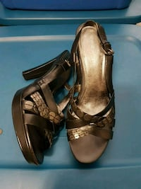 Nine West size 9, good condition, leather Mississauga, L5A 3Y3